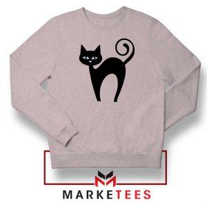 Glowing Cat Eyes Sport Grey Sweatshirt