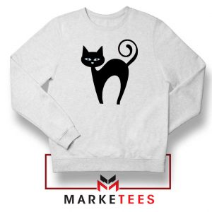 Glowing Cat Eyes Sweatshirt