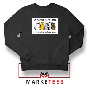 It Takes Village Cat Sweatshirt