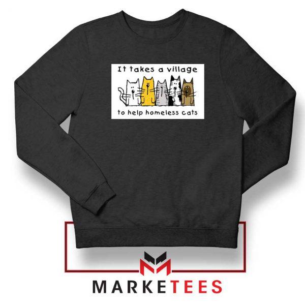 It Takes Village Cat Sweatshirt