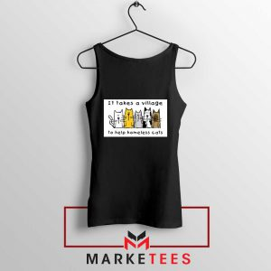 It Takes Village Cat Tank Top