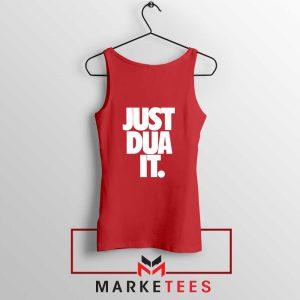 Just Dua It Nike Parody Red Tank Top
