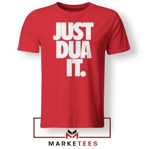 Just Dua It Nike Parody Red Tshirt