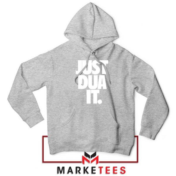Just Dua It Nike Parody Sport Grey Hoodie