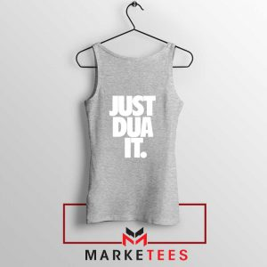Just Dua It Nike Parody Sport Grey Tank Top