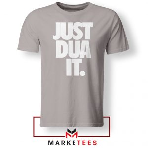 Just Dua It Nike Parody Sport Grey Tshirt