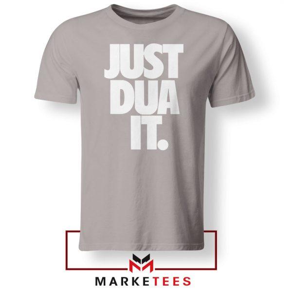 Just Dua It Nike Parody Sport Grey Tshirt