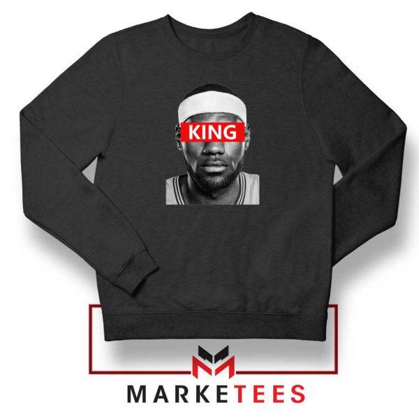 King LeBron James Black Sweatshirt