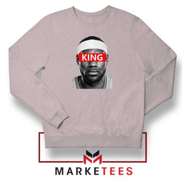 King LeBron James Sport Grey Sweatshirt