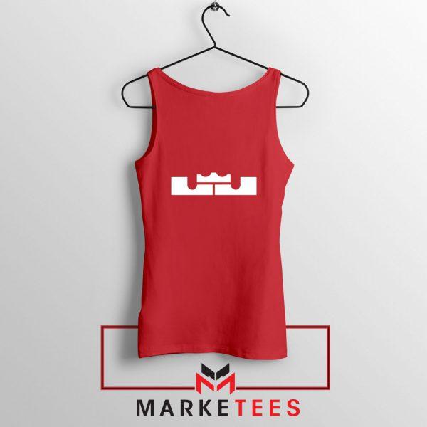 Lebron James Logo Red Tank Top