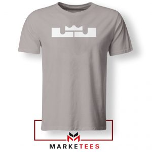 Lebron James Logo Sport Grey Tshirt