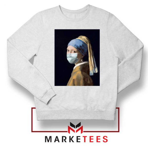 Mask Girl Coronavirus Sweatshirt