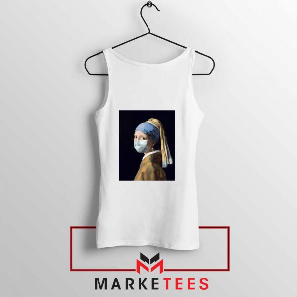 Mask Girl Coronavirus Tank Top