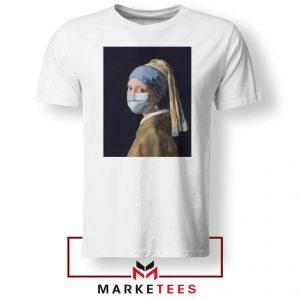 Mask Girl Coronavirus Tshirt