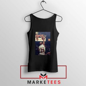 Michael Jordan Slam Dunks Black Tank Top