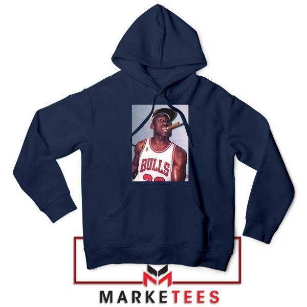 Michael Jordan Smoke Navy Blue Hoodie
