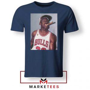 Michael Jordan Smoke Navy Blue Tshirt