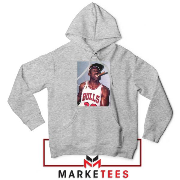 Michael Jordan Smoke Sport Grey Hoodie