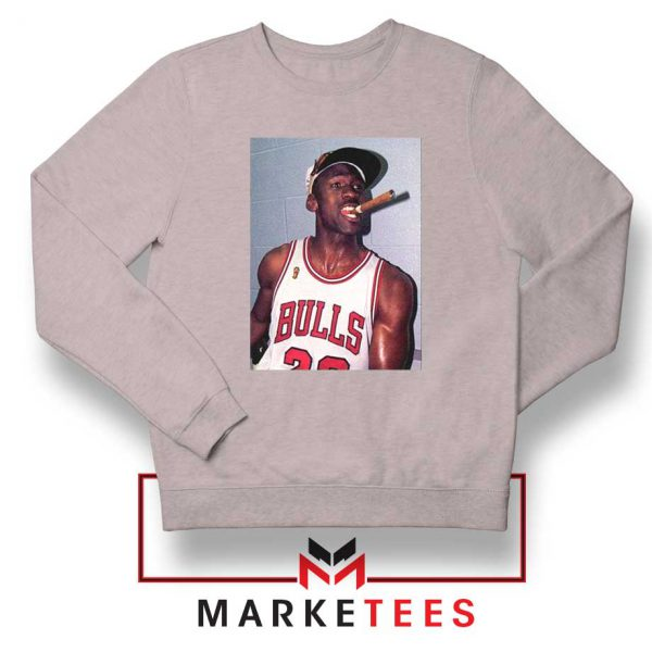 Michael Jordan Smoke Sport Grey Sweatshirt