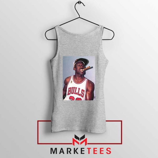 Michael Jordan Smoke Sport Grey Tank Top