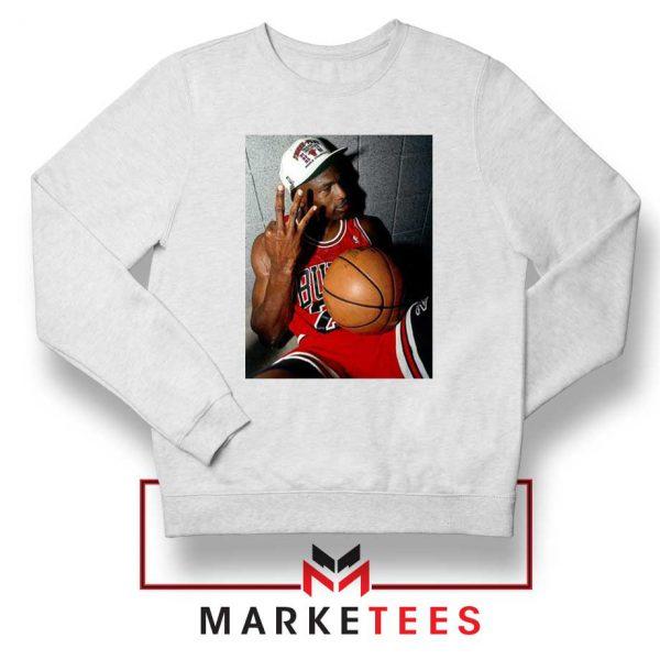 Michael Jordan Three Peat Sweatshirt