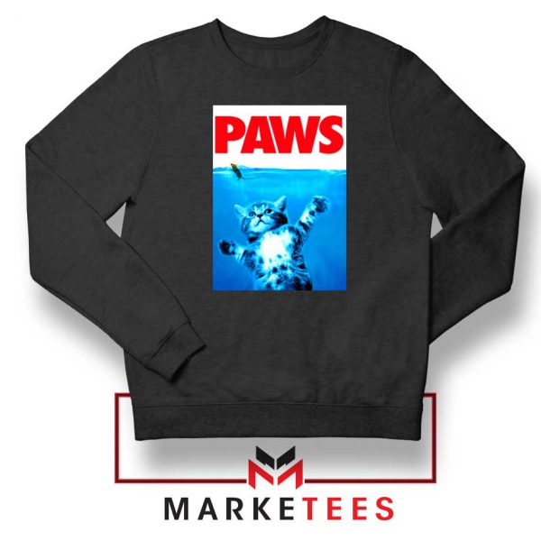 Paws Cat and Mouse Sweatshirt