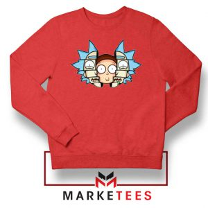 Rick And Morty Comedy Red Sweatshirt