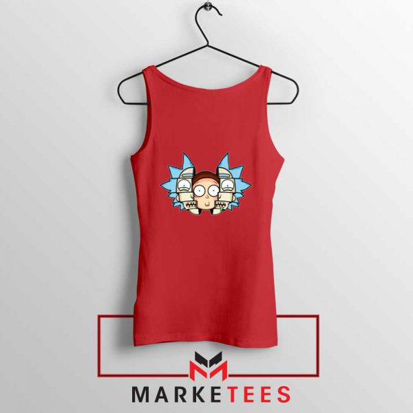 Rick And Morty Comedy Red Tank Top