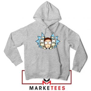 Rick And Morty Comedy Sport Grey Hoodie