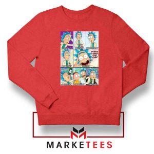 Rick Drunk Red Sweatshirt