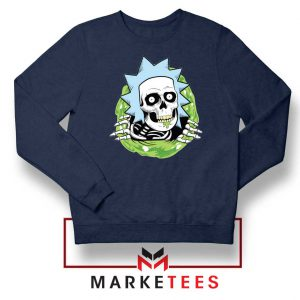 Rick Ripper Navy Blue Sweatshirt