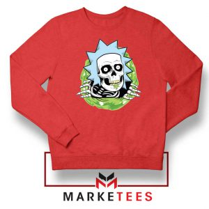 Rick Ripper Red Sweatshirt
