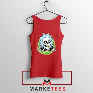 Rick Ripper Red Tank Top