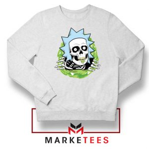 Rick Ripper White Sweatshirt