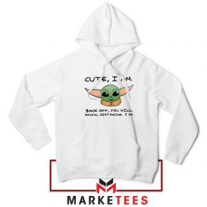 Social Distancing Child Alien Hoodie