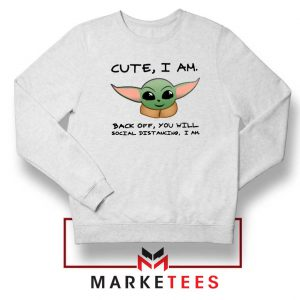 Social Distancing Child Alien Sweatshirt