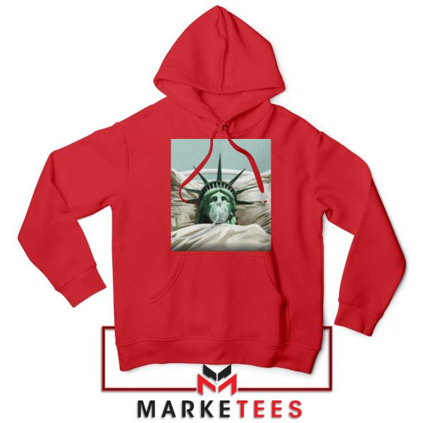 Statue Liberty Hurts Red Hoodie