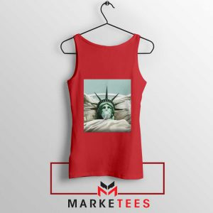 Statue Liberty Hurts Red Tank Top