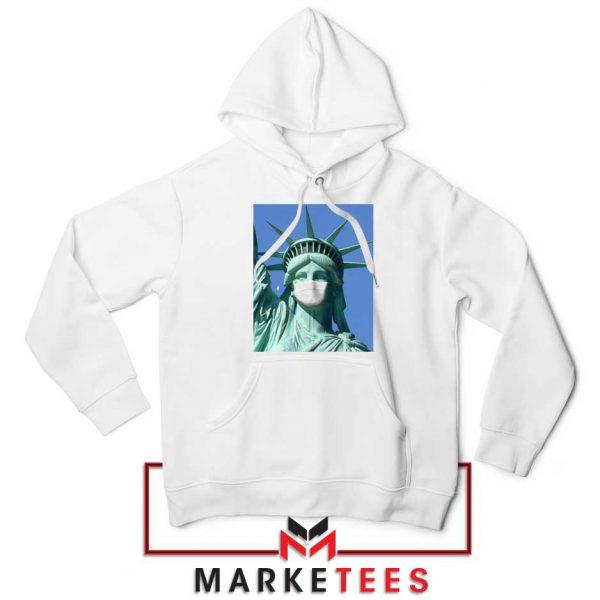 Statue of Liberty Mask Hoodie