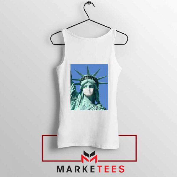 Statue of Liberty Mask Tank Top