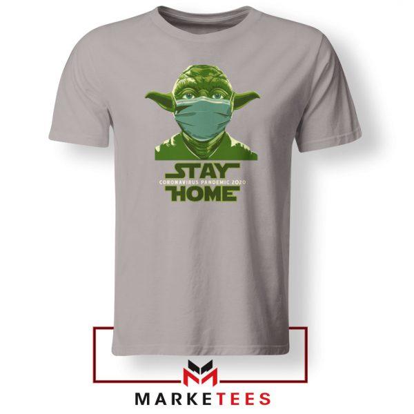 Stay Home Yoda Sport Grey Tshirt