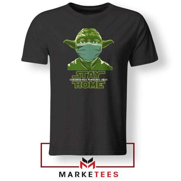 Stay Home Yoda Tshirt