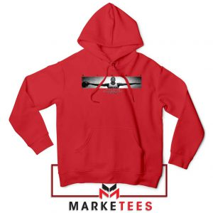 Wings Michael Jordan Red Hoodie