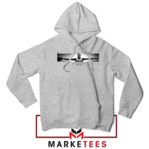 Wings Michael Jordan Sport Grey Hoodie