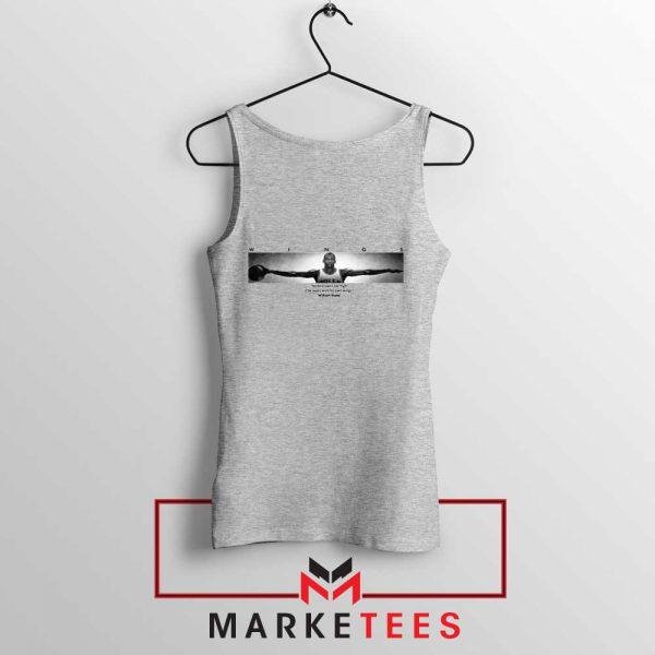 Wings Michael Jordan Sport Grey Tank Top