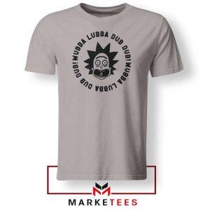 Wubba Lubba Dub Dub Sport Grey Tshirt