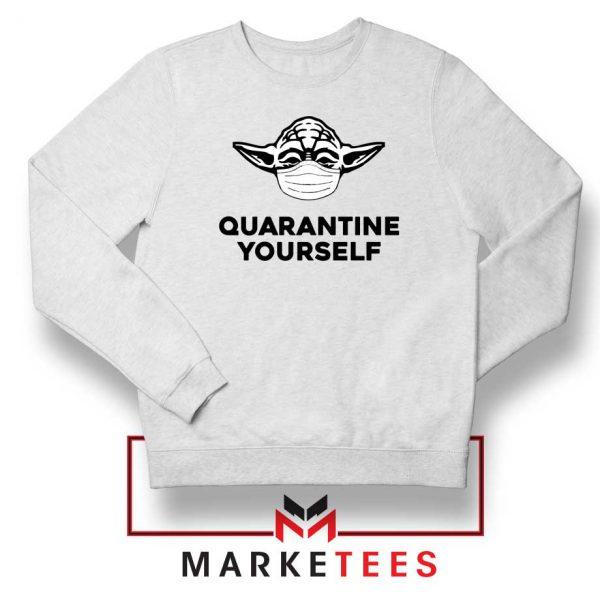 Yoda Quarantine Yourself Sweatshirt