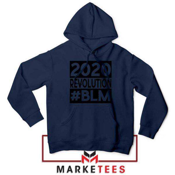 2020 Revolution #BLM Navy Blue Hoodie