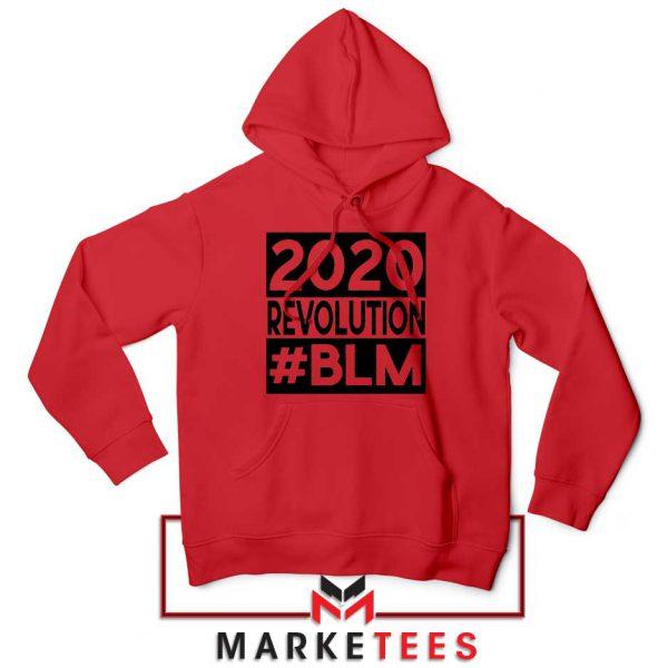 2020 Revolution #BLM Red Hoodie