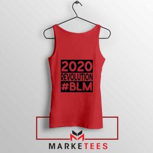 2020 Revolution #BLM Red Tank Top